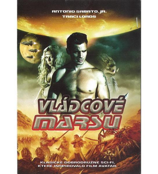 Vládcové marsu ( pošetka ) DVD