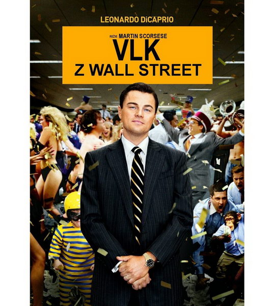 Vlk z Wall Street ( plast ) - DVD