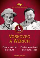 Voskovec a Werich - kolekce 4 DVD