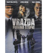 Vražda prvního stupně ( plast ) - DVD