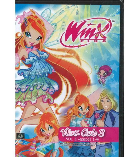 Winx Club - 3.série, 1. DVD, díly 1-4
