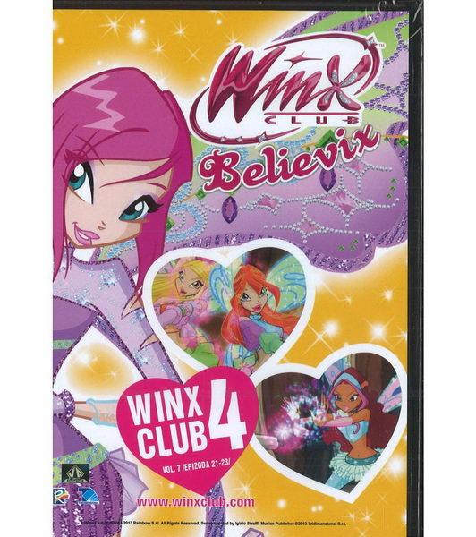 Winx Club - 4.série, 7. DVD, díly 21-23