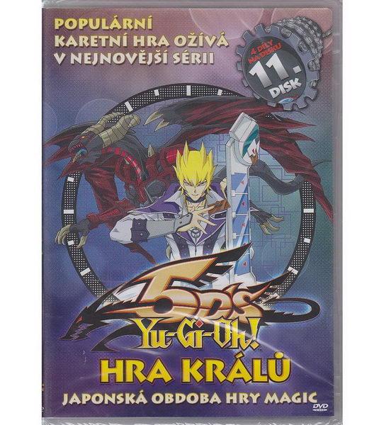 YU-GI-OH! 5D'S: Hra králů 11 - DVD