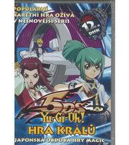 YU-GI-OH! 5DS: Hra králů 12 - DVD