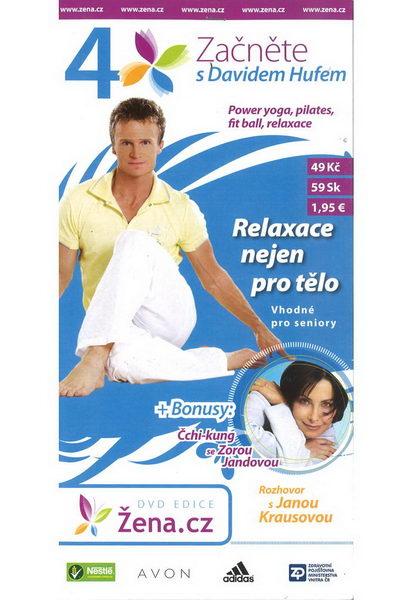 Začněte s Davidem Hufem 4 - Relaxace nejen pro tělo - DVD