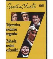 Záhada sedmi ciferníků - Agatha Christie - DVD