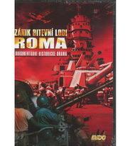 Zánik bitevní lodi Roma - DVD slim