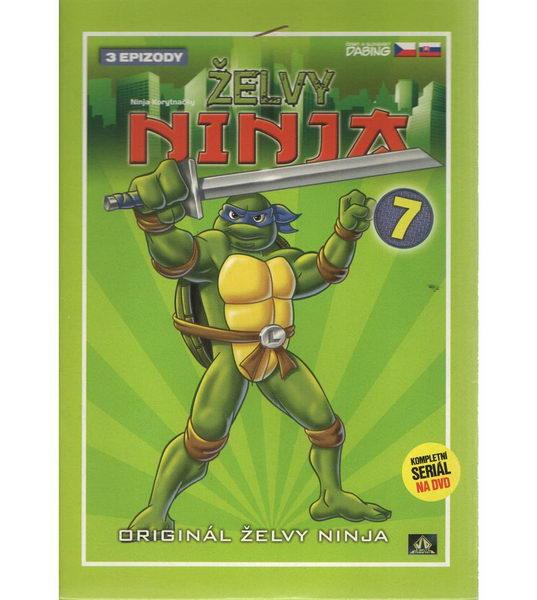 Želvy ninja 7 - VAPET - DVD