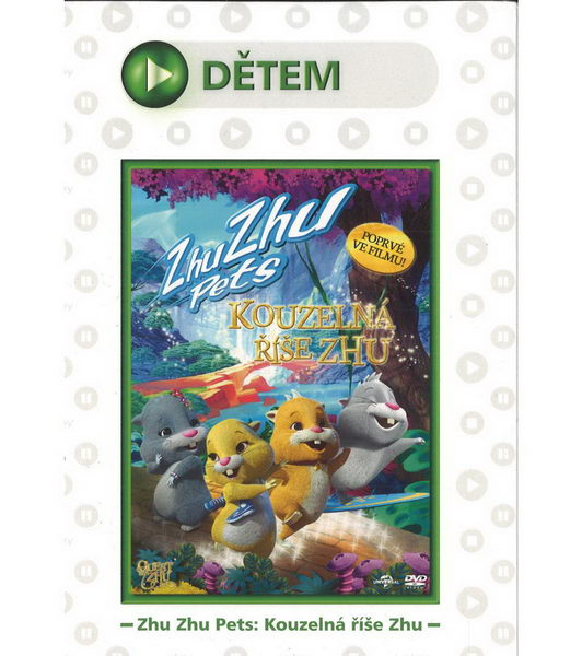 Zhu Zhu Pets - Kouzelná říše Zhu - DVD