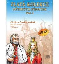 Zlatá kolekce Dětských písniček Vol. 1 - CD