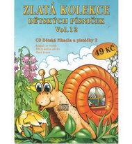 Zlatá kolekce Dětských písniček Vol. 12 - CD