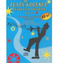 Zlatá kolekce Dětských písniček Vol. 4 - CD