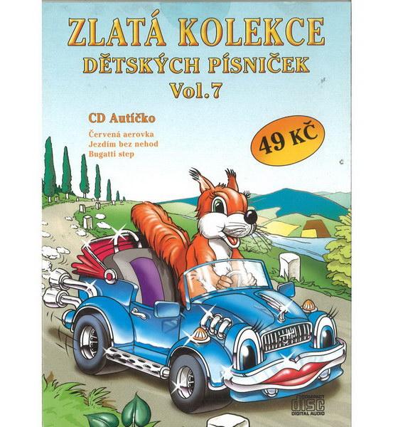 Zlatá kolekce Dětských písniček Vol. 7 - CD
