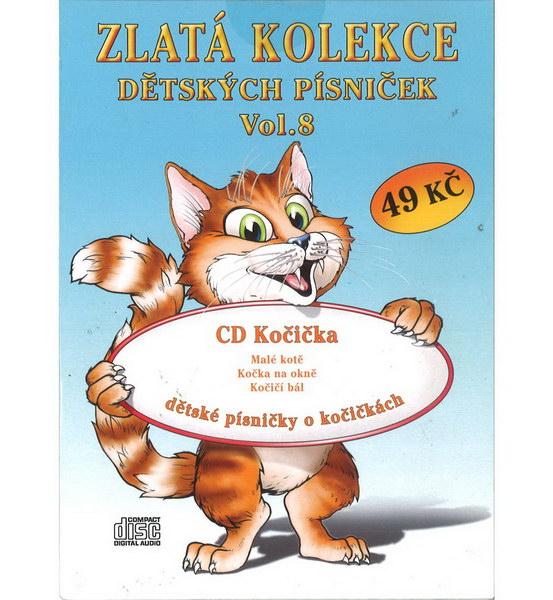 Zlatá kolekce Dětských písniček Vol. 8 - CD