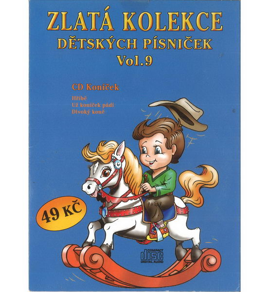 Zlatá kolekce Dětských písniček Vol. 9 - CD