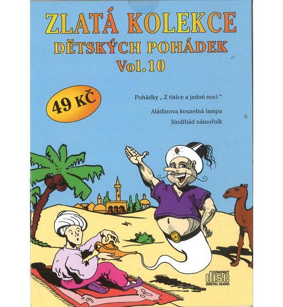 Zlatá kolekce Dětských pohádek Vol. 10 - CD