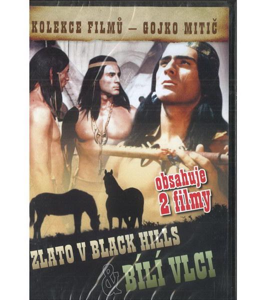 Zlato v Black Hills + Bílí vlci - DVD