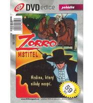 Zorro mstitel - animovaný - DVD