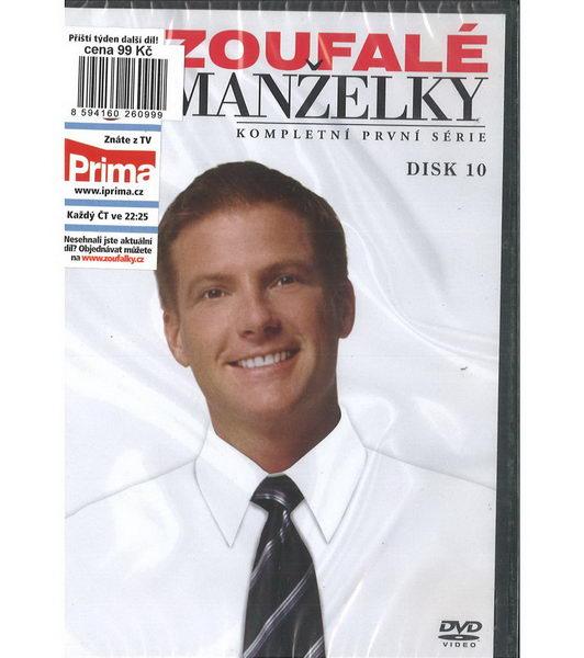 Zoufalé manželky 1. série disk 10 - DVD