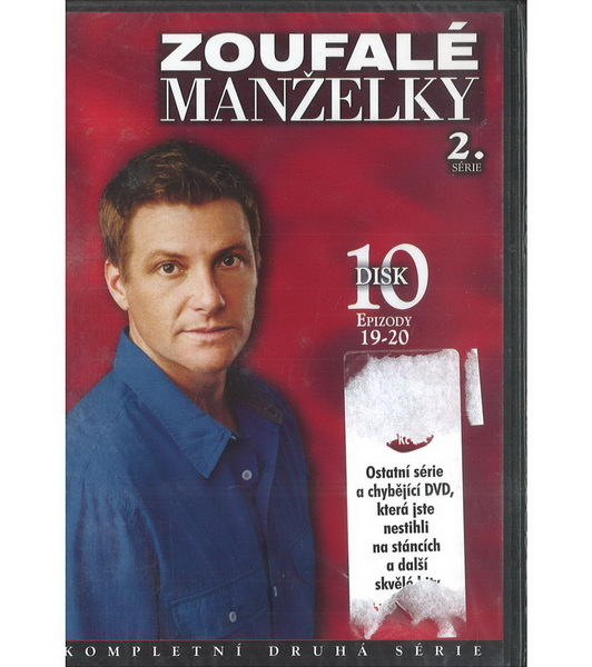 Zoufalé manželky 2. série disk 10 - DVD
