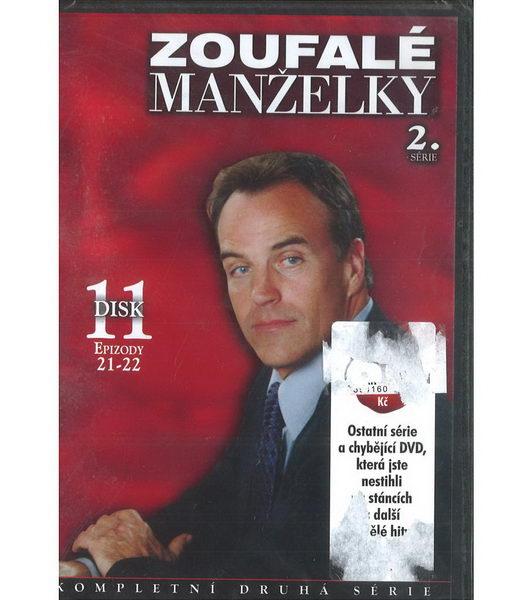 Zoufalé manželky 2. série disk 11 - DVD