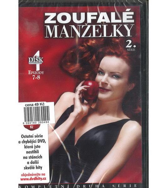 Zoufalé manželky 2. série disk 4 - DVD