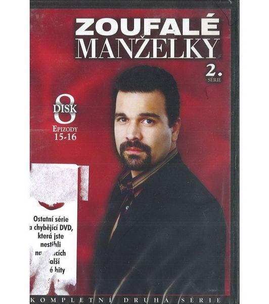 Zoufalé manželky 2. série disk 8 - DVD