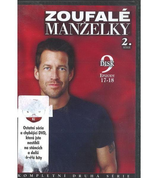 Zoufalé manželky 2. série disk 9 - DVD