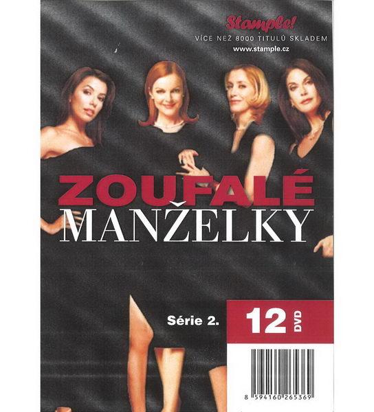 Zoufalé manželky 2. série - kolekce 12 DVD - akční nabídka