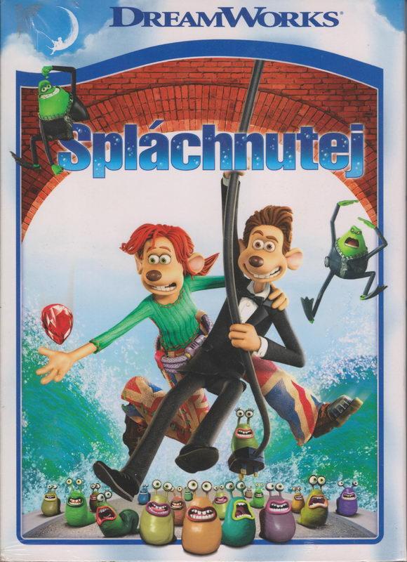 Spláchnutej - DVD