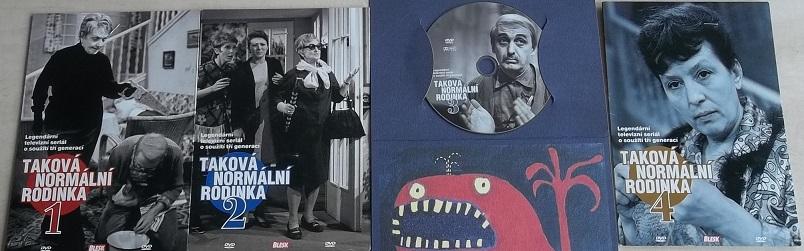 Kolekce Taková normální rodinka - DVD