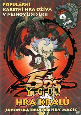 YU-GI-OH! 5DS Hra králů 9 - DVD