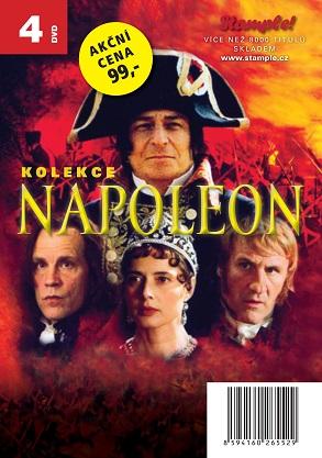 Kolekce Napoleon - 4 DVD