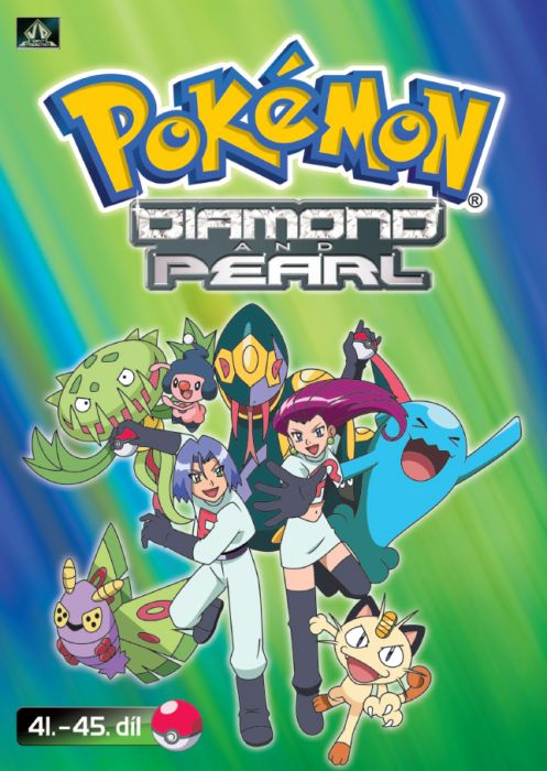 Pokémon - diamond and pearl 41. - 45. díl - DVD