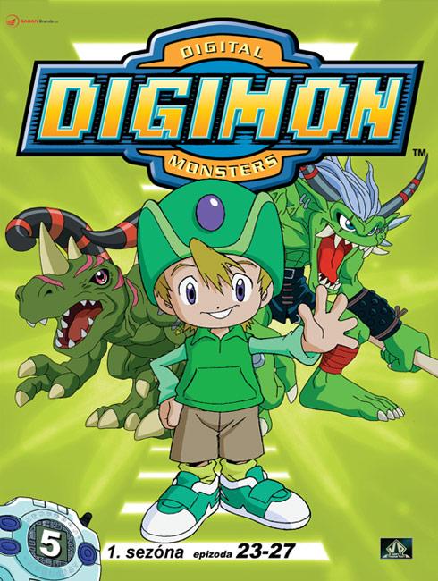 Digimon 1. série epizoda 23 - 27 - DVD