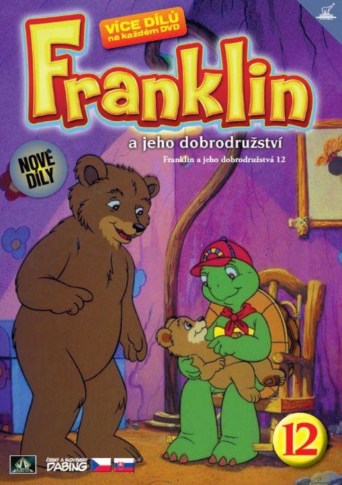 Franklin a jeho dobrodružství 12 ( plast ) DVD