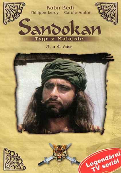 Sandokan tygr z Malajsie - 3. - 4. část - DVD