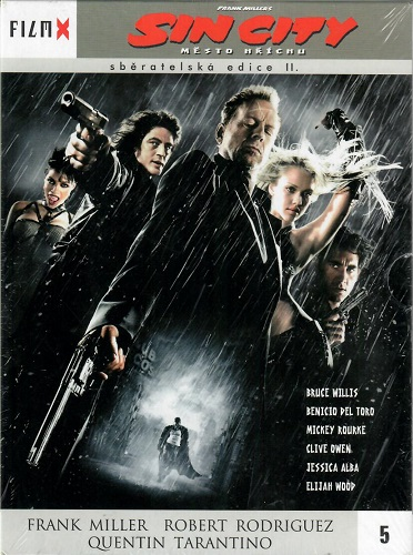 Sin City - Město hříchu - digipack DVD FilmX 5
