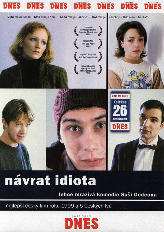 Návrat idiota - DVD