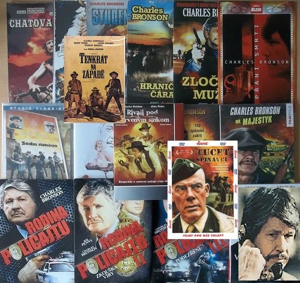 Kolekce Charles Bronson - 17 DVD