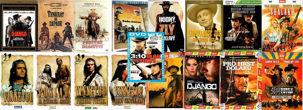 Kolekce nejlepší westerny 17 DVD