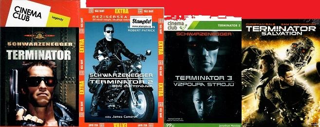 Kolekce Terminator 4 DVD