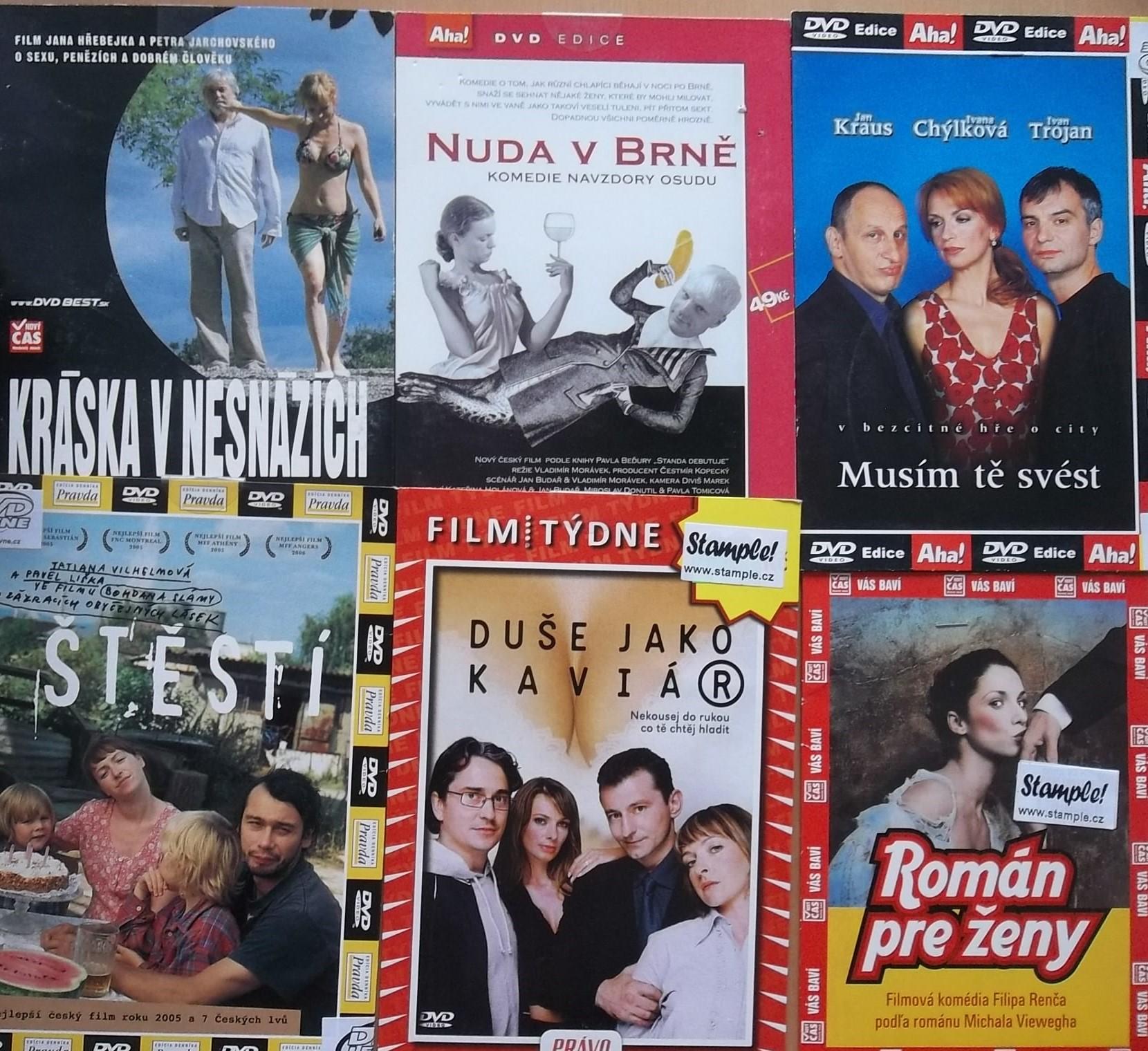 Kolekce o citech a lásce - DVD