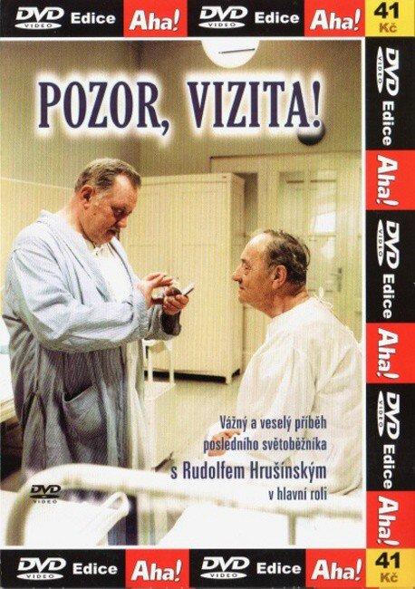Pozor, vizita! ( pošetka ) - DVD