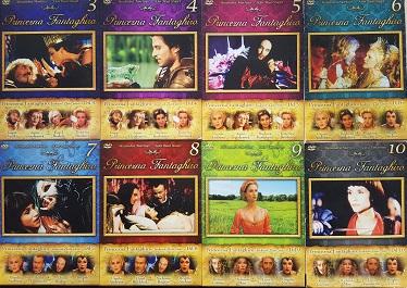 Kolekce Princezna Fantaghiro 8 DVD ( nekompletní, chybí díl č. 1,2 )