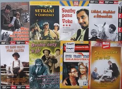 Kolekce filmů natočených 1970 - 1978 - DVD