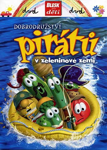 Dobrodružství pirátů v zeleninové zemi - DVD