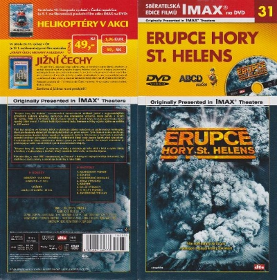 IMAX - 31 - Erupce hory St. Helens - DVD
