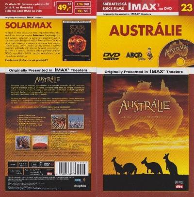 IMAX - 23 - Austrálie - Země za hranicemi času - DVD