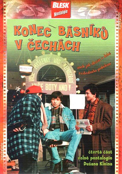 Konec básníků v Čechách ( pošetka ) - DVD